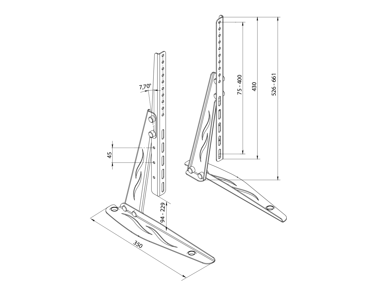 TV Table Stand SF-01